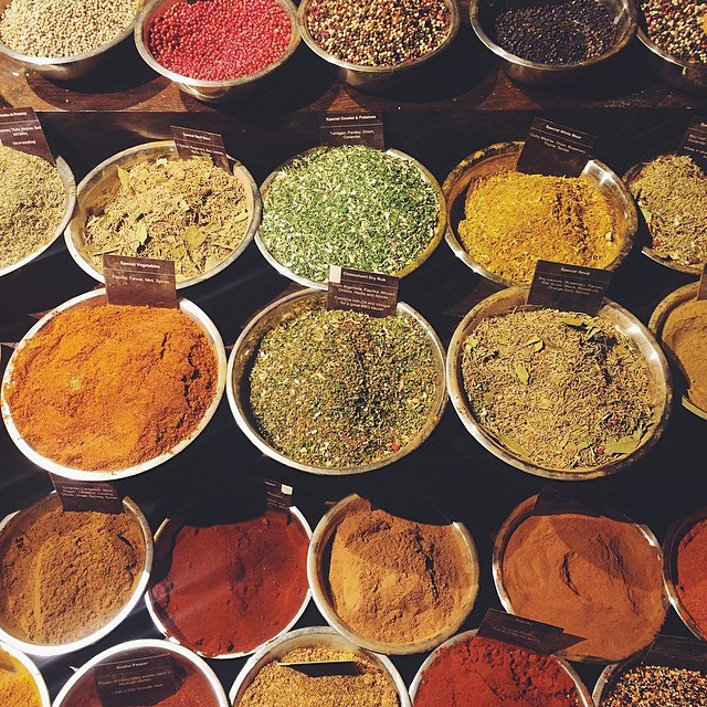 My favorite. SPICES of every colour.