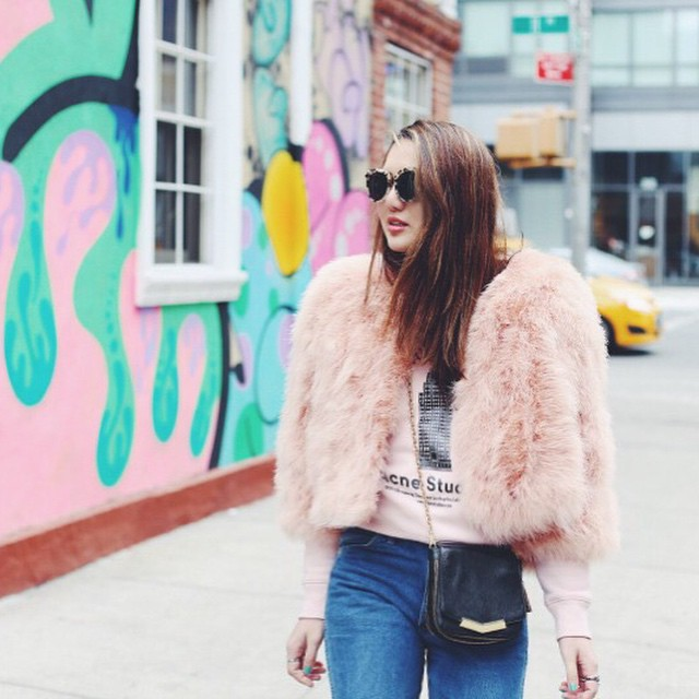 NEWNESS on natalieoffduty.com | See all of our @condenasttraveller streetstyle photographs. How cute is @dylanasuarez as a cotton candy?!