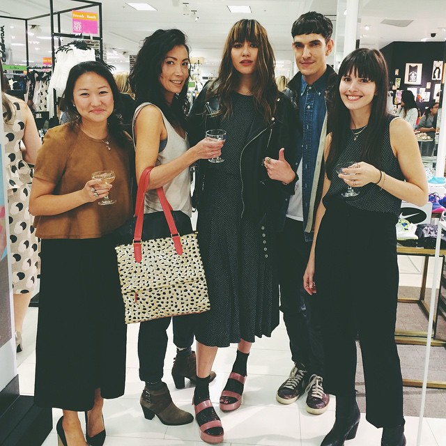 Tonight hosting for @lordandtaylor with my @_1state babes + @instylemagazine. Floor 2 is madness. #LTFriends #xo1state