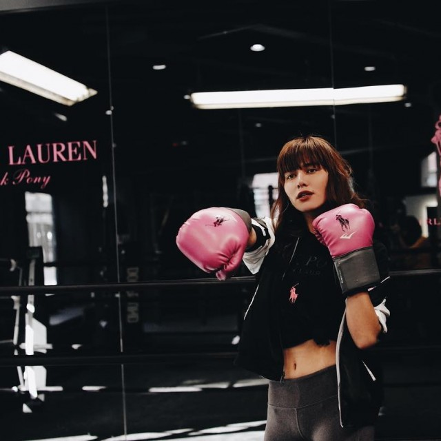 Kicking Breast Cancer out of the ring with my stronghellip