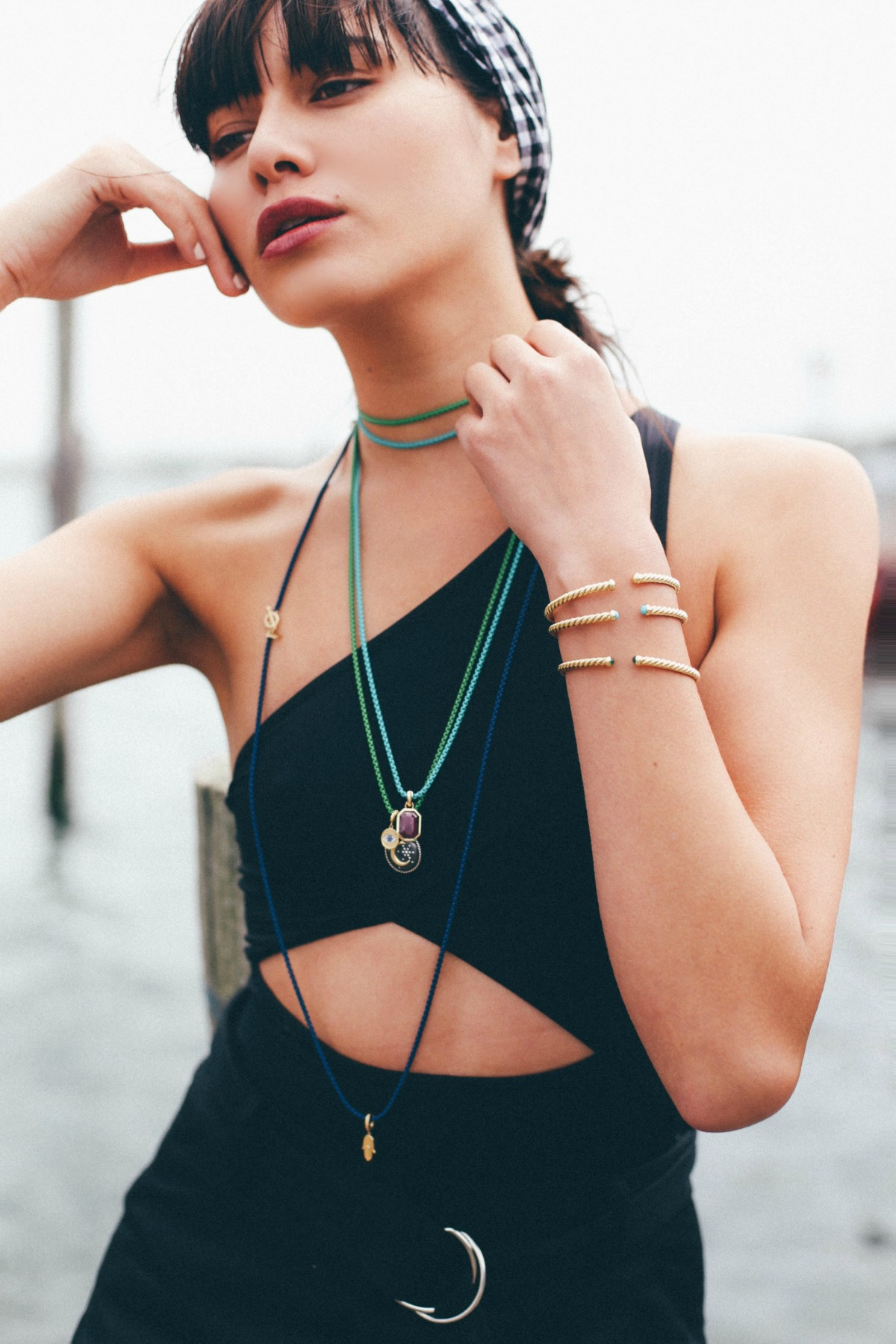 shop david dy bel aire collection chains with 14k gold accents