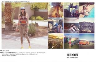 """Hudson Jeans """"instacampaign"""" FESTIVAL 2013"""