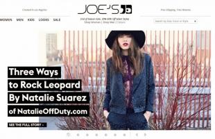 """JOE'S JEANS """"Leopard"""" LOOKBOOK"""