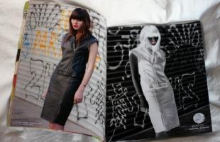 """Natalie Suarez x Volcom"" Fall '12 design collection and ad campaign"