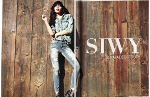 SIWY Denim ad CAMPAIGN in Flaunt Magazine