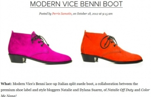STYLECASTER: Most Wanted Boot (THE BENNI):