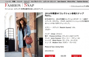 VOGUE JAPAN feature NYFW: