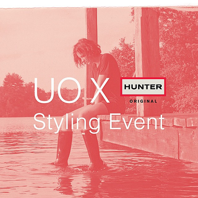 I'm hosting/styling the @hunterboots x @urbanoutfitters event at Urban Outfitters Herald Square next Thursday, Nov 6th from 4-7pm! Come hang! DJ set by @jordanadoni and @mikebazzini, and more fun surprises! #HunterxUO @UONewYork