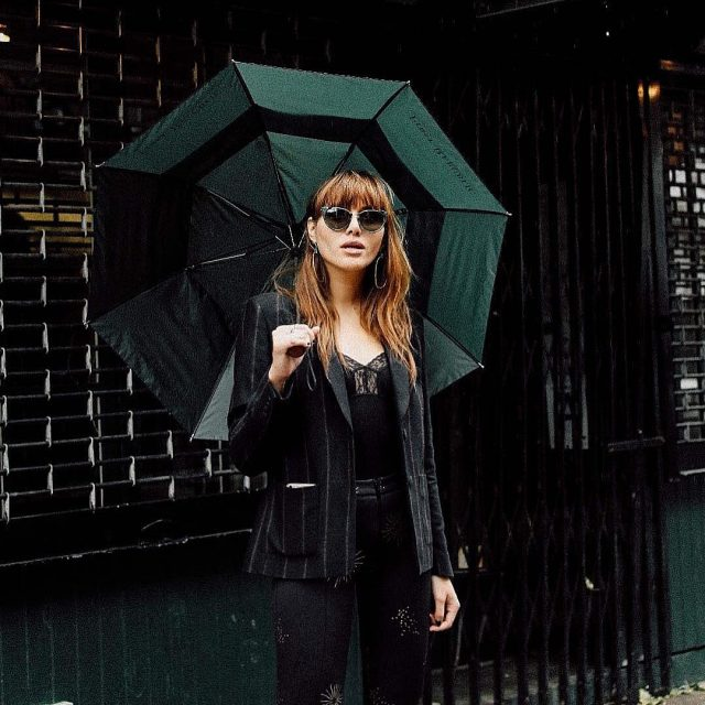 Another rainy day schedule back in NYC sezane ootd