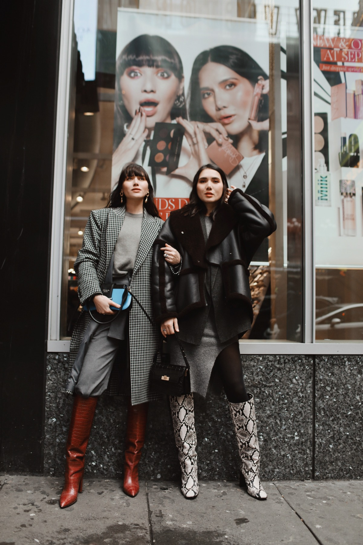 SUAREZ SISTERS FOR SEPHORA – WE'RE IN TIMES SQUARE!