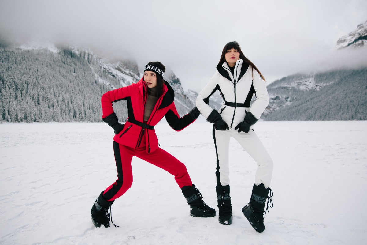THE MACKAGE SKI CAPSULE CAMPAIGN IN BANFF | SUAREZ SISTERS